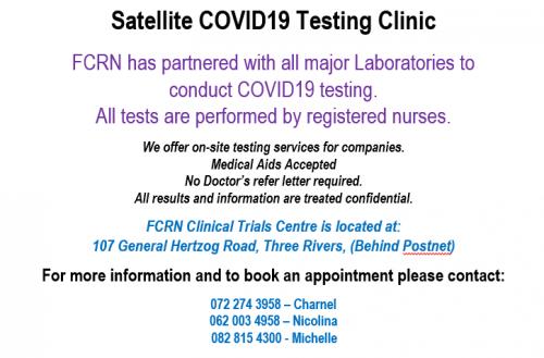 F.C.R.N Clinicial Trial Centre